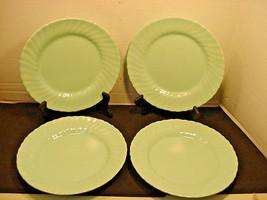Franciscan Coronado Aqua Matte 4 Luncheon Plates Blue - $39.11