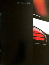 1995 Nissan 240SX sales brochure catalog US 95 LE SE Silvia - $9.00