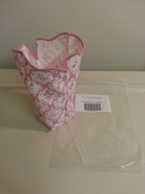Longaberger 2002 Horizon of Hope Basket Liner Only New In Bag Pink Authentic - $8.86
