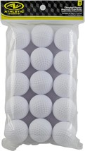 Athletic Works Golf Balls, 15 Pack - $13.37+