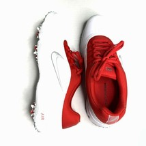 NIKE AIR RIVAL 4 GOLF SHOES MENS SIZE 9 WHITE RED 818728-101 - $60.00