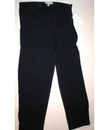 NWT New Womens XL Emanuel Ungaro Comfy Lounge Pants Silk Navy Blue  Desi... - $423.80