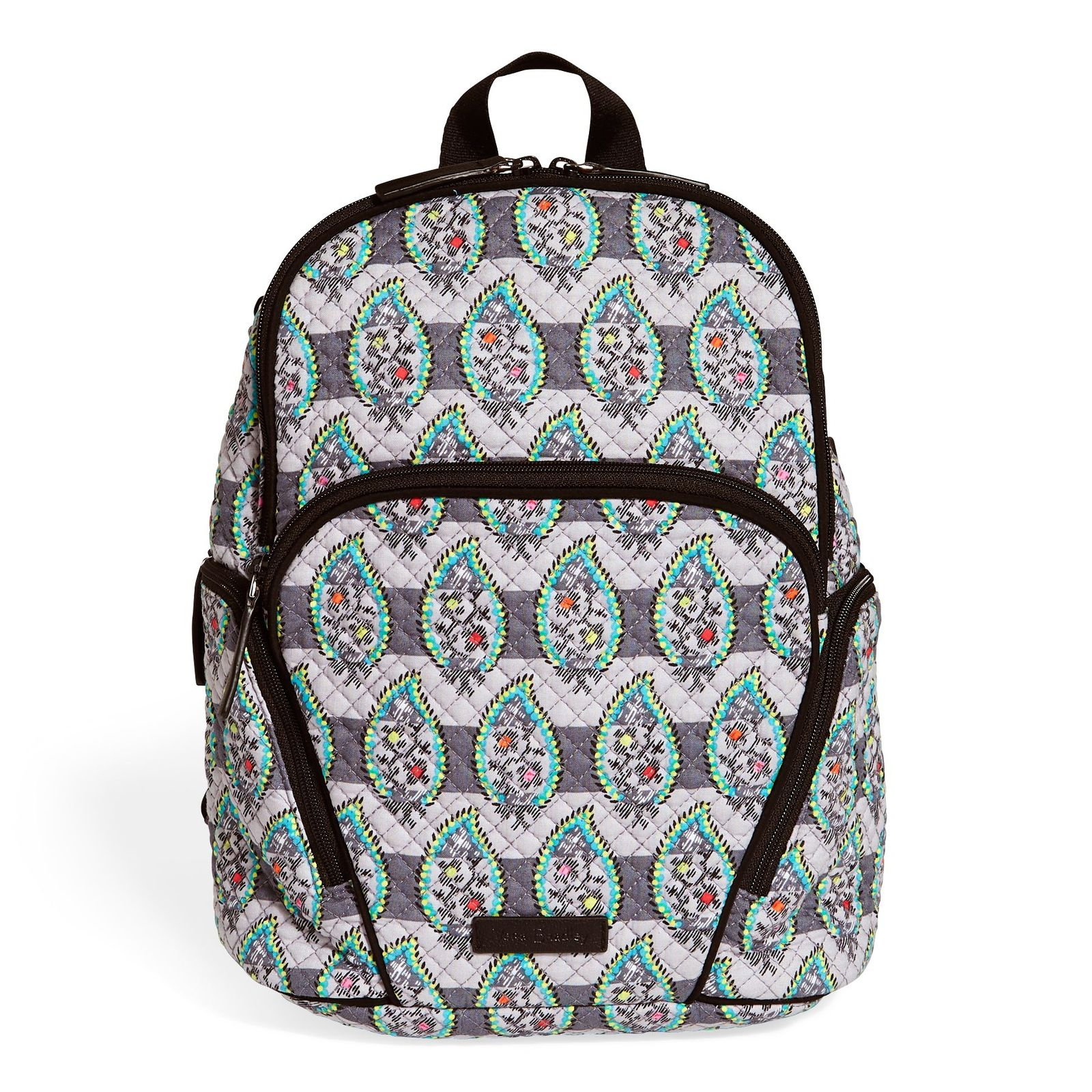2e33f0df2 Vera Bradley Quilted Signature Cotton Hadley Backpack, Paisley ...