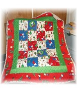 Snoopys vintage christmas quilt thumbtall
