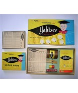 1961 Yahtzee E.S. Lowe Dice Game #950 & Extra Score Pads No. 6/100 - $12.99