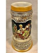 VINTAGE 20 OZ CERAMARTE BEER STEIN GERMAN MOTIF GERMAN SAYINGS - $49.49