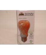 Himalayan Glow Natural Salt Light Bulb, Non-Dimmable, 5 Watt LED Meditation Yoga - $7.95