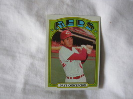 1972 Topps Baseball CARD#267 Dave Concepcion Ex++Nm Reds - $2.35
