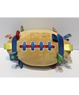 """Mary Meyer Baby Taggies Football 11"""" Plush Rattle Toy 2003 Signature Col... - $11.61"""