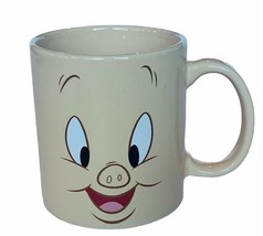 Porky Pig Mug Looney Tunes vtg Westland coffee face Bugs Bunny Thats all... - $29.65