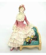 "Vintage Royal Doulton Sonia Figurine HN1692 Woman on Chair 1938 6.25"" - $423.22"