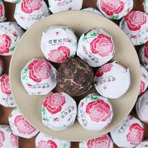Yunnan Huacha Xiaotuo Tea 250g China Rose Puer Tea Combination Huacao Te... - $23.31