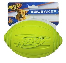 NERF Dog 7 in. Ridged Squeaker Football Dog Toy - Case Pack of 24 Balls - $239.99