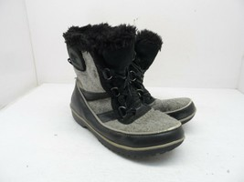 Sorel Women's Mid-Cut Tivoli II Winter Boots Black/Grey Size 8M - $28.49