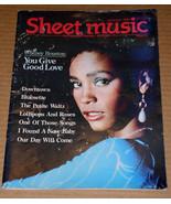 Whitney Houston Sheet Music Magazine Vintage 1987 - $23.99