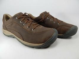Keen Presidio II Size 9 M (B) EU 39.5 Women's Leather Oxford Shoes Brown... - $83.10