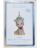 Precious Moments 'Have A Pur-r-fect Christmas' Kitten Cat Ornament #1310... - $22.77
