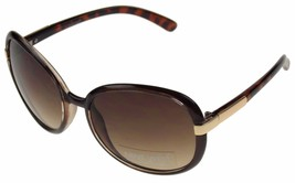 Nine West Cats Eye Sunglasses Brown Marble 100%... - $29.99