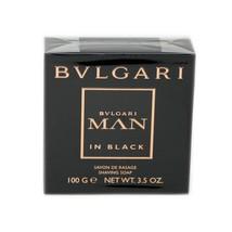 Bvlgari Man In Black Shaving Soap 100 G/3.5 Oz. Nib - $31.19