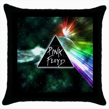 Throw pillow case cover pink floyd the dark side of the moon - $19.50