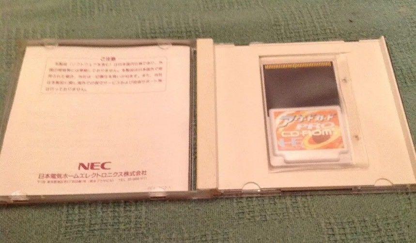 PC Engine CD ROM 2 Arcade Card Pro