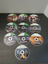 LOT (9) XBOX 360 Fable 3 Mass Effect 3 Skyrim Video Games - $28.05