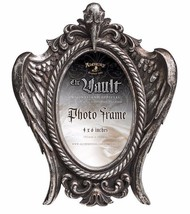 My Soul from the Shadow Ornate Wings Silver 4X6 Picture Frame Alchemy Go... - $24.00