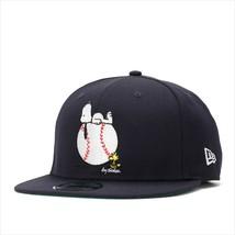 New Era Peanuts collaboration cap Snapback 9FIFTY ON BALL Navy - $90.99