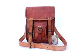 """New 15"""" Men's Details About Vintage Leather Messenger Shoulder Briefcase... - $67.91"""
