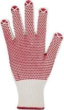 Asatex 3685 Feinstrick-Handschuh mit Punktbenoppung und (10|Weiß / Grün) - $38.38
