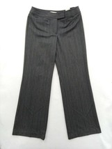 "Ann Taylor Loft Women's Flare Gray Pants Size 2 w/measurements 30""x31.5""... - $47.45"