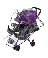 Fdit Baby Stroller Rain Cover Universal Transparent Pushchair Shield Dus... - $11.14