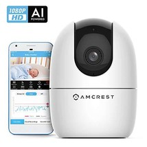 Amcrest 1080P Smart Home WiFi Camera, Baby Monitor, AI Human (ASH21-W (W... - $51.27