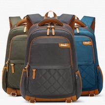 oxford cloth big capacity laptop bag men outdoor sport casual backpack - $30.00