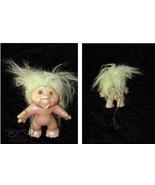 Vintage Troll Doll Figure Cute green hair - $24.99