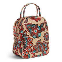 Vera Bradley Quilted Signature Cotton Iconic Lunch Bunch Bag, Desert Floral