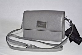 NWT Marc By Marc Jacobs Nifty Gifty Julie Leather Crossbody / Bag Gunmet... - ₨12,558.67 INR