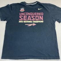 Nike T-Shirt Mens XXL Black 2014 BCS National Championship Alabama Crims... - $17.99