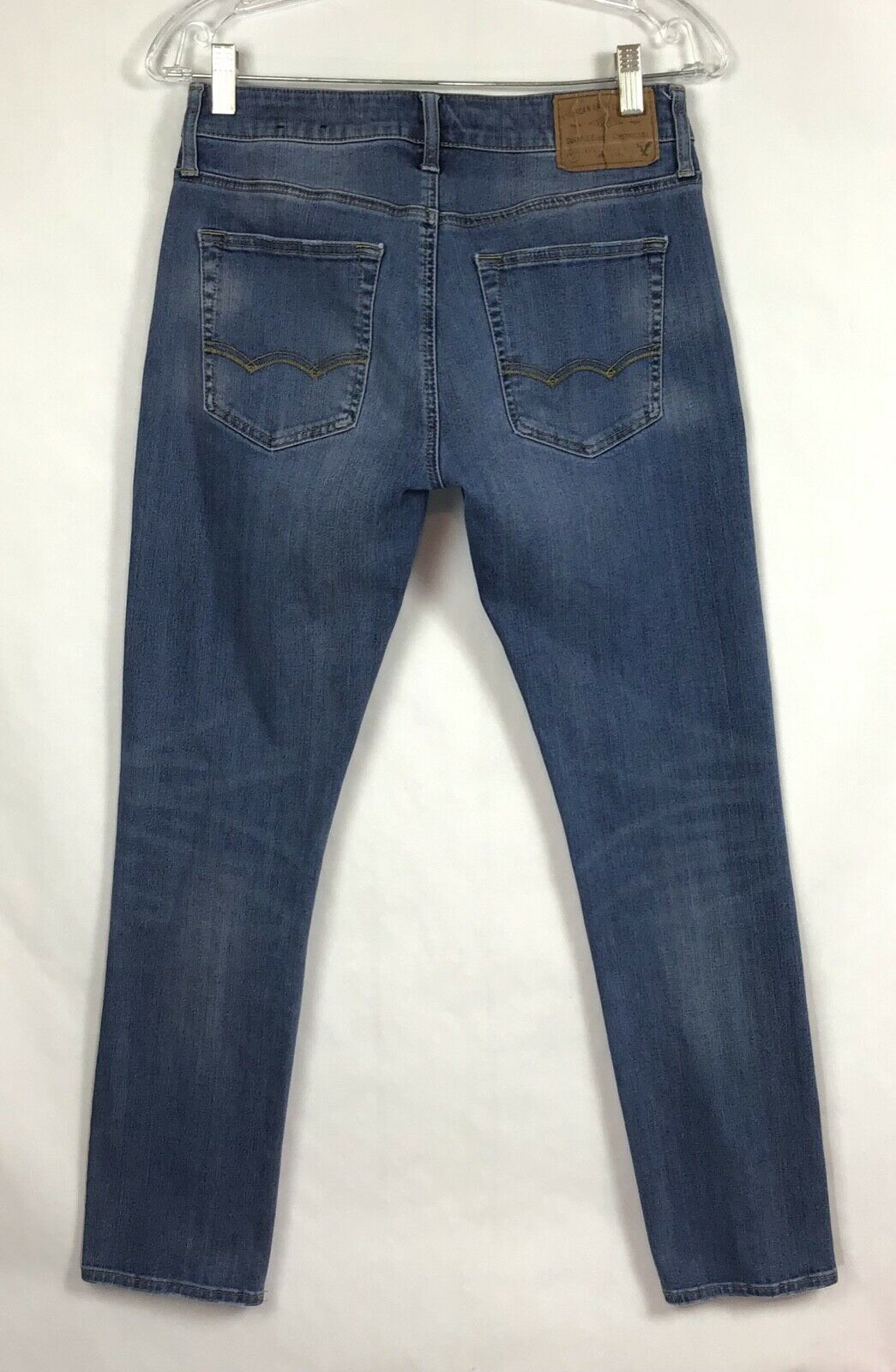 American Eagle Outfittters AEO Mens Denim Jeans 29x30 360 Extreme Flex Stretch   image 3