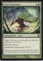 Magic The Gathering Feral Invocation Card #158/249 - $0.99