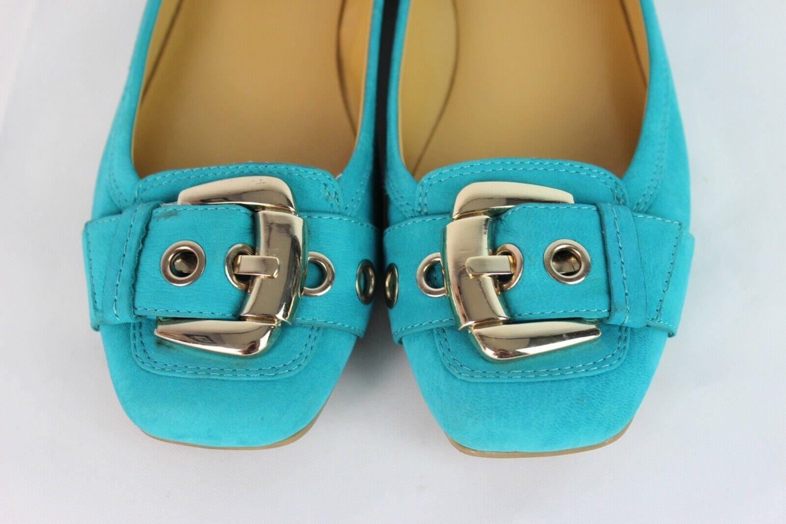 Nine West à Pois Femmes Chaussures Ballerines Plates Cuir Supérieur Taille US 7M