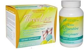 ThreeLac PLUS ThreeLac Active Digestive Enzymes By Global Health Trax - $83.90