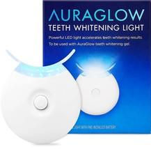 AuraGlow Teeth Whitening Accelerator Light 5x More Powerful Blue LED Lig... - $17.59