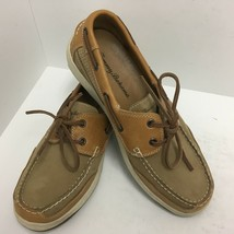 Tommy Bahama Captain Leather Boat Shoes Deck Slip On Loafers 10.5 M EUC  - $37.39