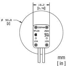 Osram Sylvania TP120R lampholder for G5.3 GU5.3 GX5.3 GY5.3 socket light... - $34.00