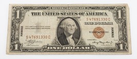 Series 1935 A $1 HAWAII Silver Certificate Small Size Note (Fine, F Cond... - $54.44