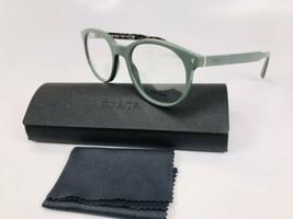✳ New Prada VPR 14T VAS-1O1 Opal Green Eyeglasses 50mm with Prada Case - $91.03