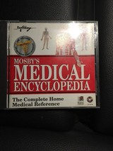 Mosby's Medical Encyclopedia 1995 Home Medical Reference CD-ROM Windows - $6.88
