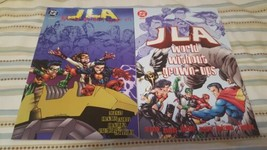 JLA: world without grown-ups #1 & 2 (complete mini-series) - $10.00