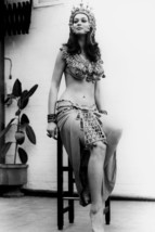 Valerie Leonfull length in costume Blood From The Mummy's Tomb sitting on chair  - $23.99